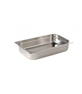 Bac Gastronorme Inox GN 1/1 Profondeur 100 mm